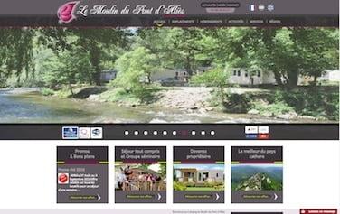 site de camping dans l'Aude