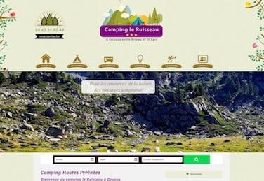 site de camping pyrénées