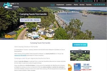 site de camping en Normandie