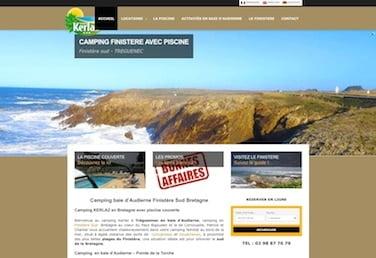 site web camping Bretagne