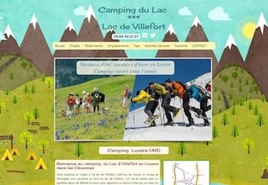 site camping lozere