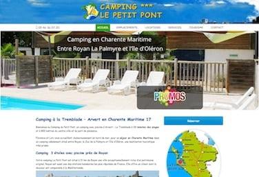 site de camping la tremblade