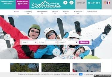 site web camping ariege